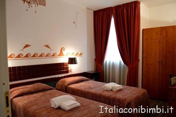 camera doppia hotel del cioccolato di Perugia