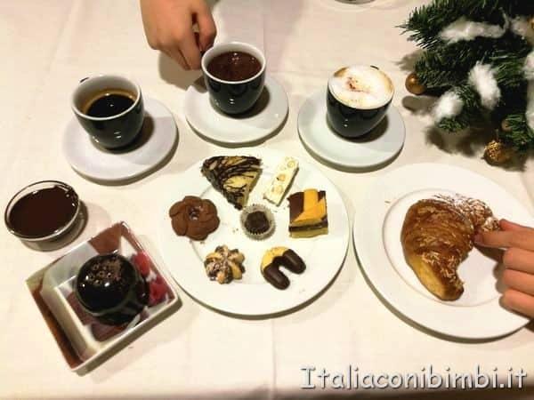 colazione al Choco Hotel Perugia
