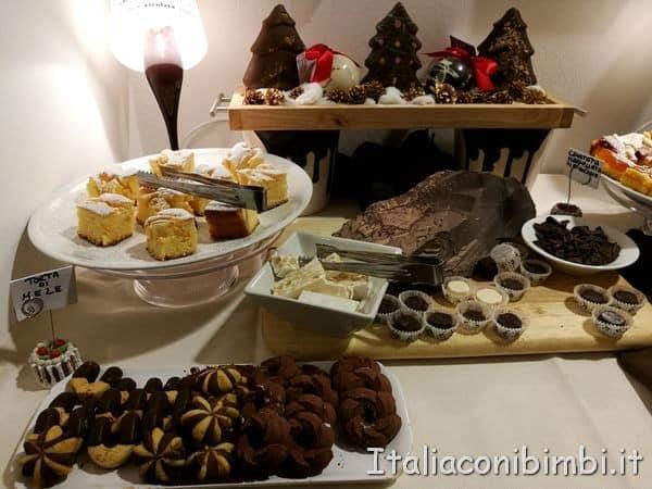 colazione all'hotel del cioccolato di Perugia