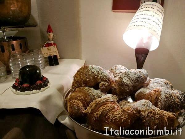 cornetti dell'Etruscan Choco Hotel di Perugia