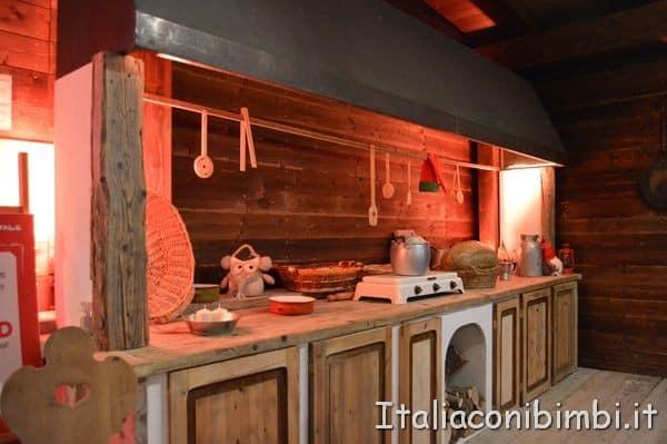 cucina di Babbo Natale a Montepulciano