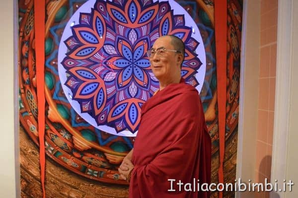 Dalai Lama al Madame Tussauds di Londra