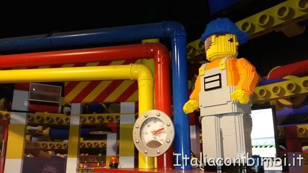Lego Factory al Legoland Discovery Centre di Berlino