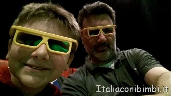 film in 4D al Legoland Discovery Centre di Berlino