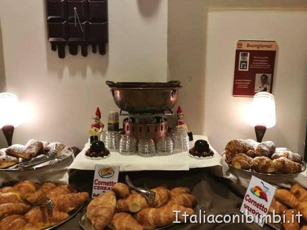 fonduta di cioccolato all'Etruscan Choco Hotel di Perugi