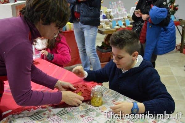 laboratorio delle saponette al Castello di Montepulciano