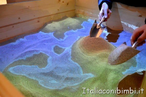 mostra interattiva Perugia Sotto Sopra al Post
