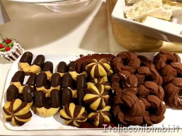 pasticcini all'Hotel del Cioccolato di Perugia