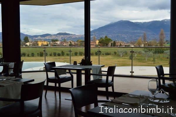 ristorante Recanto dell'hotel Valle di Assisi Resort and spa