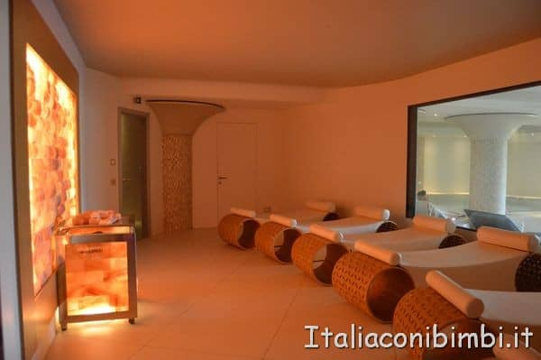 sala relax a 35 gradi dell'hotel Valle di Assisi Resort and spa