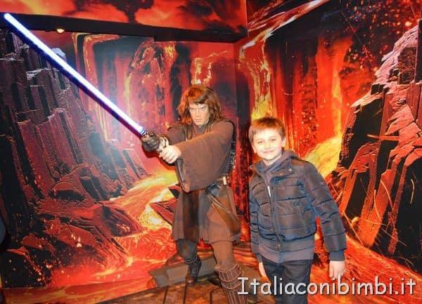 statue di cera di Star Wars al Madame Tussauds di Londra