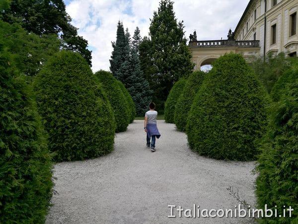 I giardini del Castello di Praga