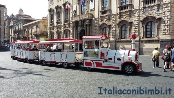 Catania trenino turistico