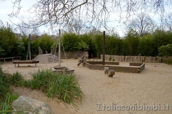 Diana Princess of Wales Memorial parco giochi