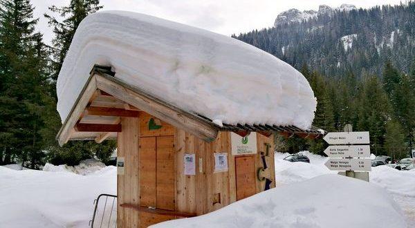 Neve in Val di Fiemme