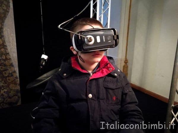 Oculus alla mostra Klimt Experience di Roma