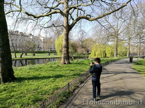 Regent' Park a Londra