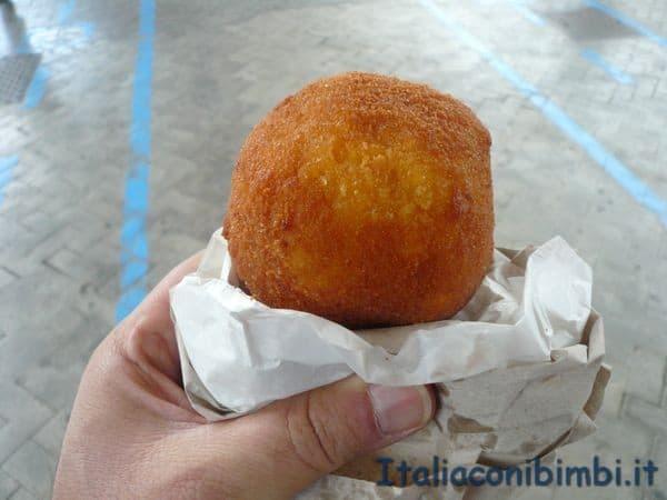 arancina di Palermo