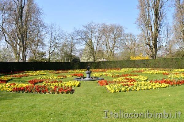 fiori Regent's Park di Londra