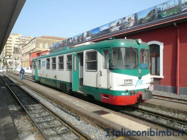 treno della circumetnea Catania Borgo