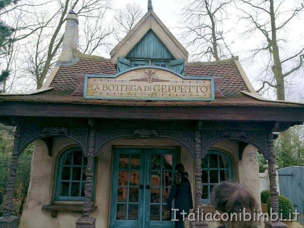 Bottega di Geppetto Efteling