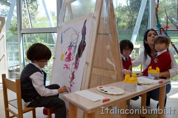 Liberi Reggiomonte International School Loreto pittura