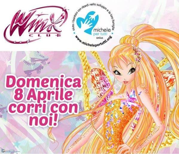 Milano Marathon Michelepertutti Winx