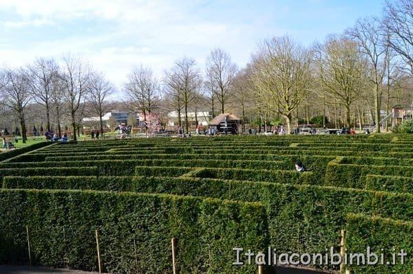 labirinto del Keukenhof