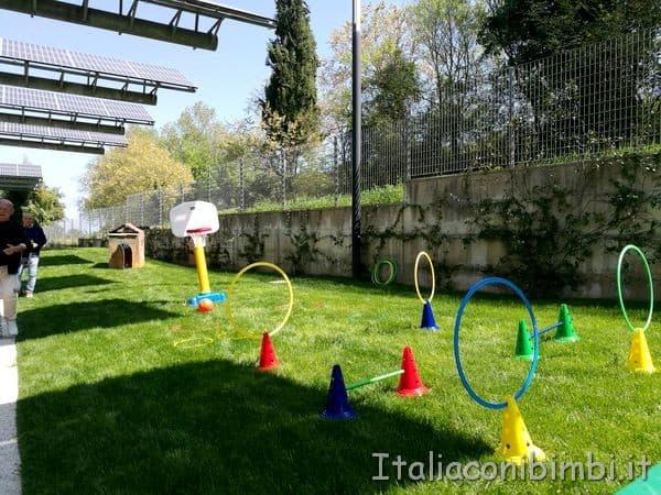 scuola infanzia Rainbow giardino