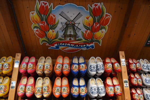 zoccoli di legno in Olanda