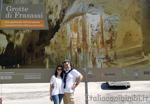 Noi alle Grotte di Frasassi