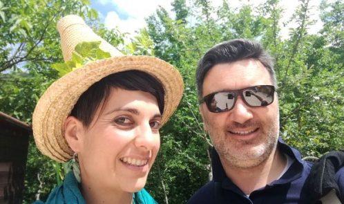 Paolo e la fata Naturella al Bosco dei Folletti di Urbania