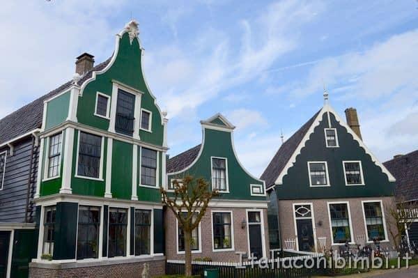 case del villaggio di Zaanse Schans