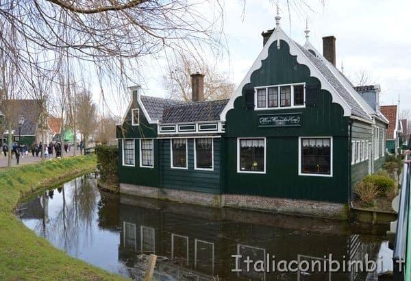 casette del villaggio di Zaanse Schans