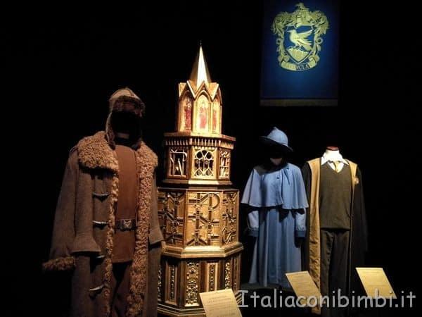 costumi originali del film di Harry Potter alla fabbrica del vapore.