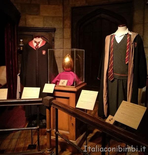 divise della scuola Harry Potter