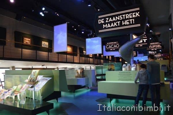 fabbrica del cioccolato nel museo di Zaanse Schans
