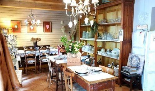 interno del ristorante Casa Tintoria di Urbania