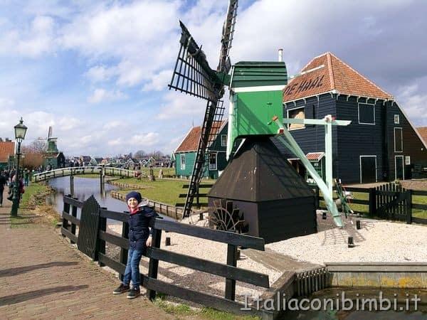 mulino a vento a Zaanse Schans