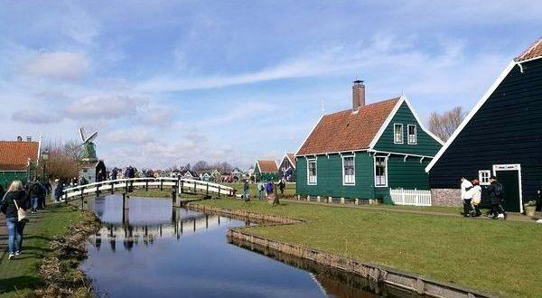 mulino a vento falegnameria a Zaanse Schans