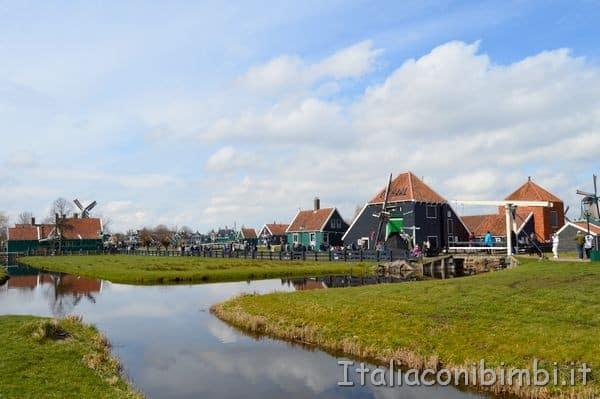 paesaggi di Zaanse Schans Zaandam