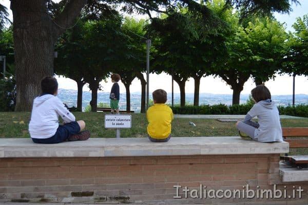 Belvedere di Potenza Picena piazzetta