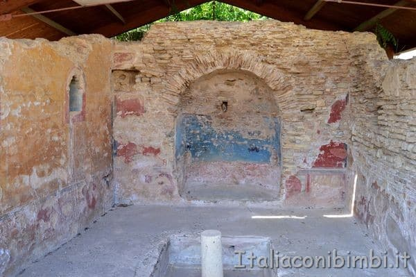 Casa Romana ritrovamenti a Cupra Marittima