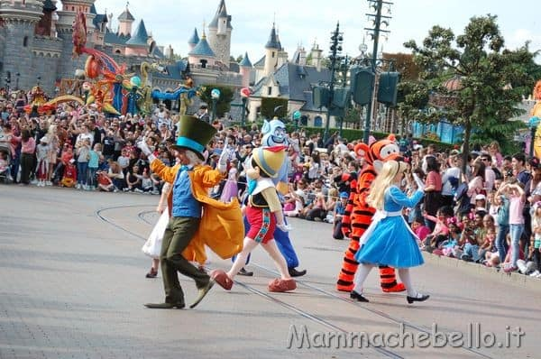 Disneyland Paris parata Disney