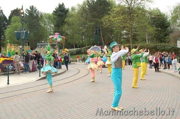 Disneyland Paris parata sulla Main Street
