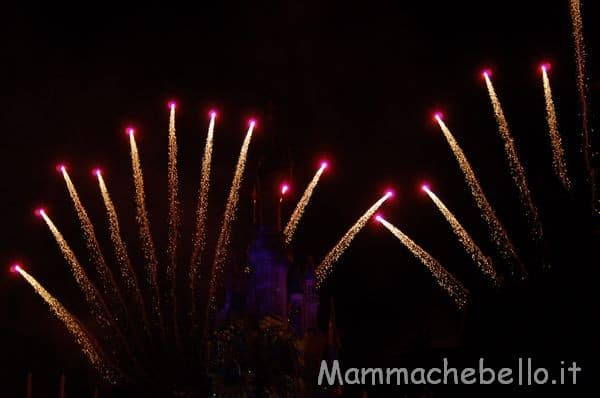 Fuochi di artificio Disneyland Paris