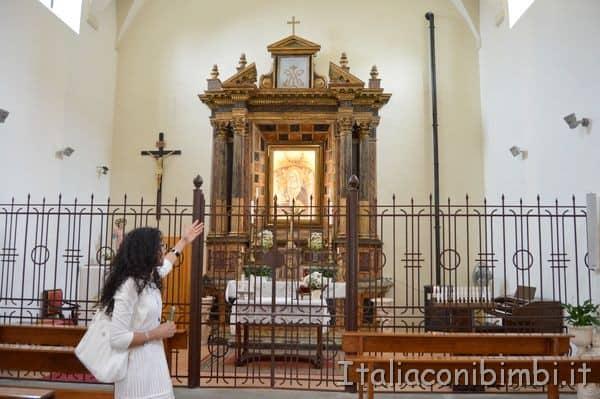 Interno Chiesa Santa Maria della Neve Potenza Picena