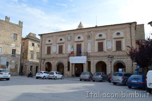 Potenza Picena Piazza Matteotti