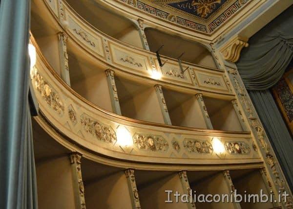 Teatro Mugellini palchi
