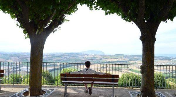 belvedere del Pincio a Potenza Picena